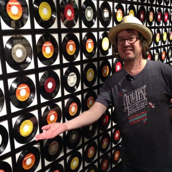 Bill DeVille at the Johnny Cash Museum