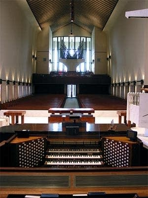 1970 Aeolian-Skinner organ, Opus 1476, at National Presbyterian, Washington DC