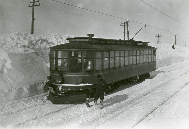 Street car in St. Paul