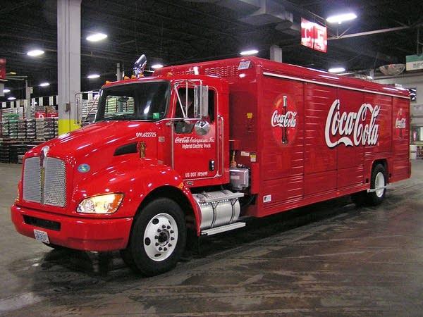 Hybrid electric truck
