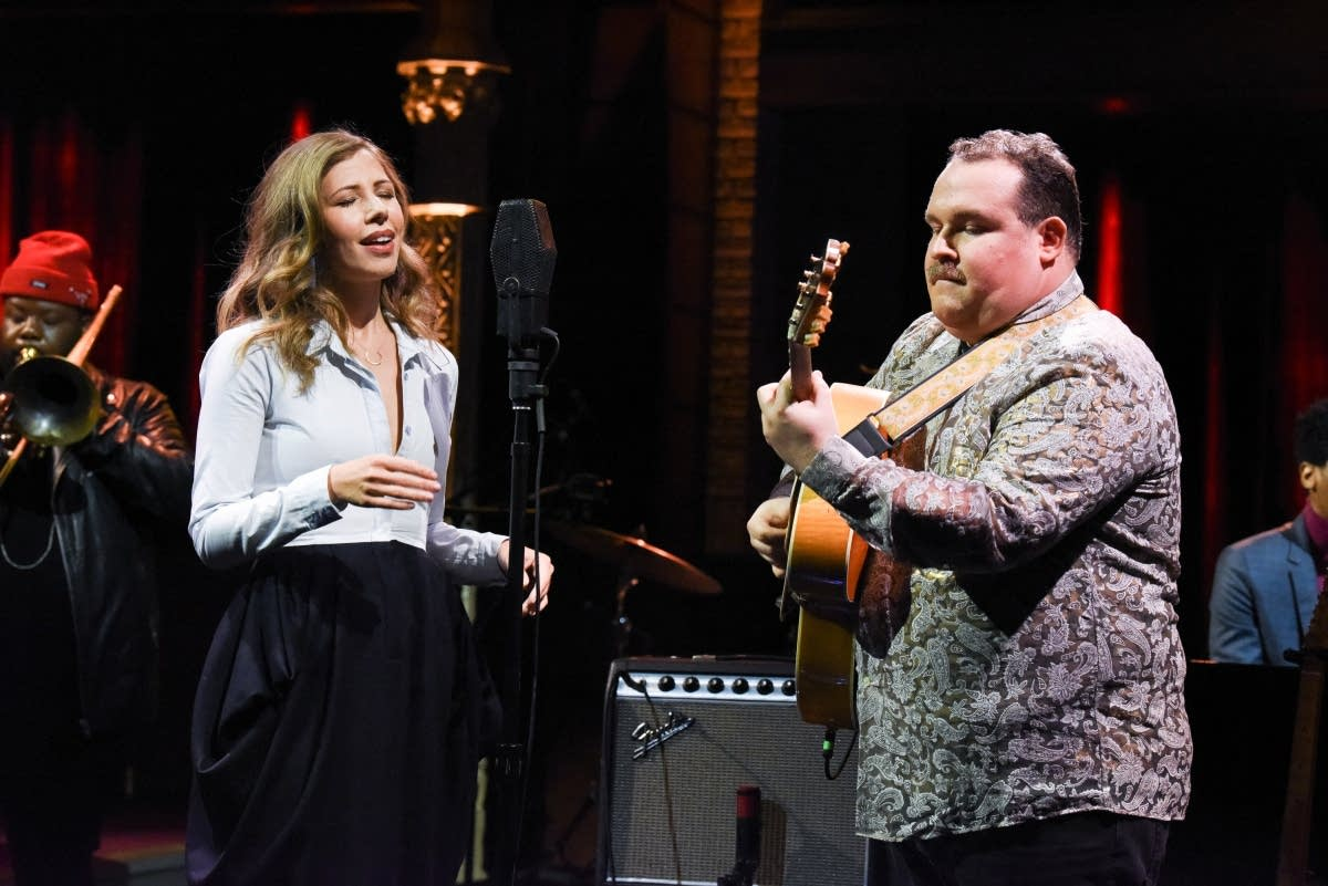 Rachael and Vilray perform on 'The Late Show with Stephen Colbert'