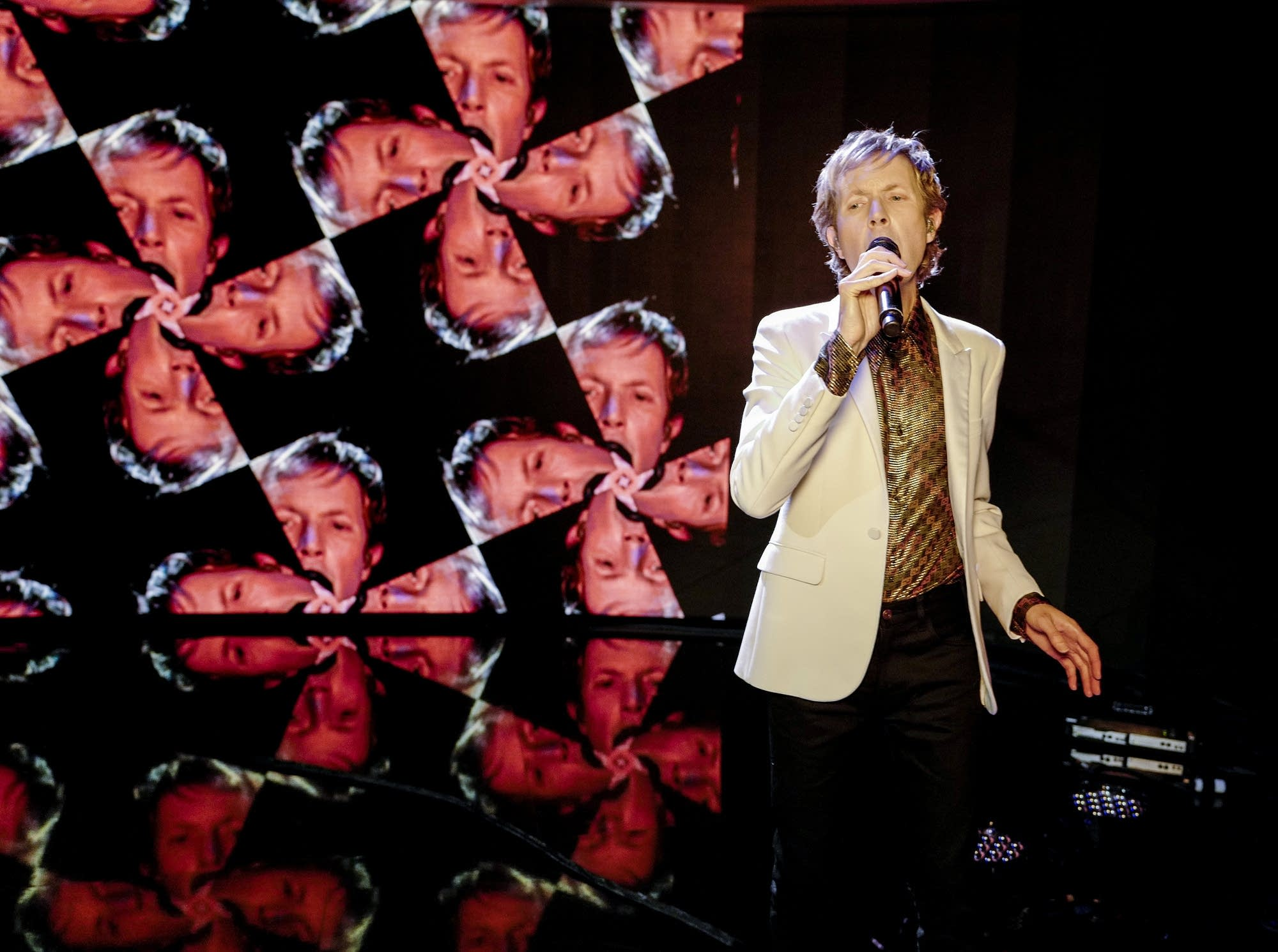 Beck on 'Jimmy Kimmel Live'