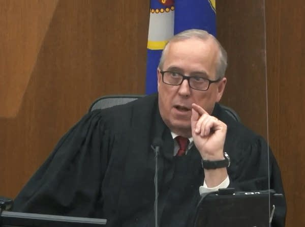 Hennepin County Judge PeterCahill presides over pre-trial motions