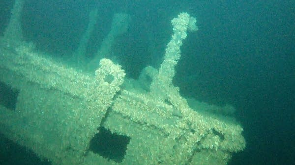 The wreck of the Pere Marquette 18 in Lake Michigan