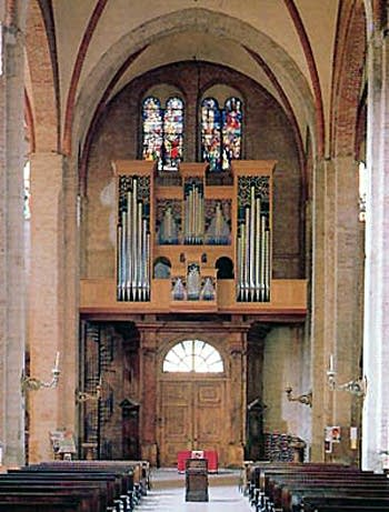 1991 Ahrend organ at the Basilica of San Simpliciano, Milan, Italy, Italy