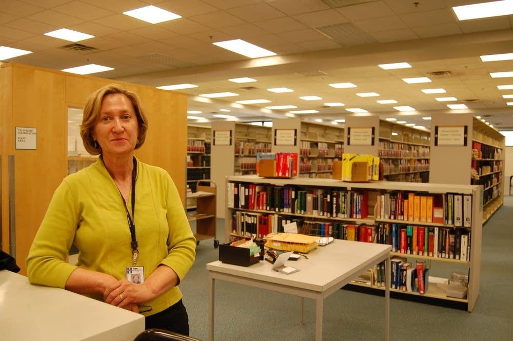 Librarian Kim Poole