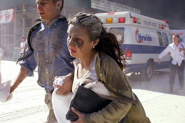 9/11 survivors flee