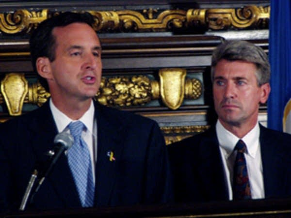 Gov. Pawlenty and Mayor Rybak