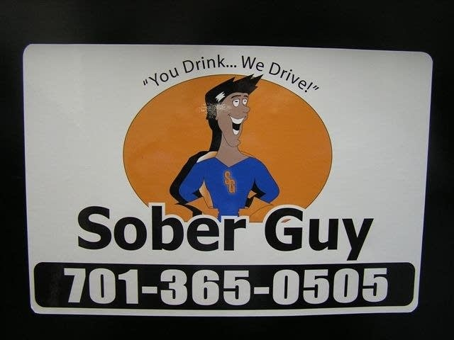 Sober Guy sign
