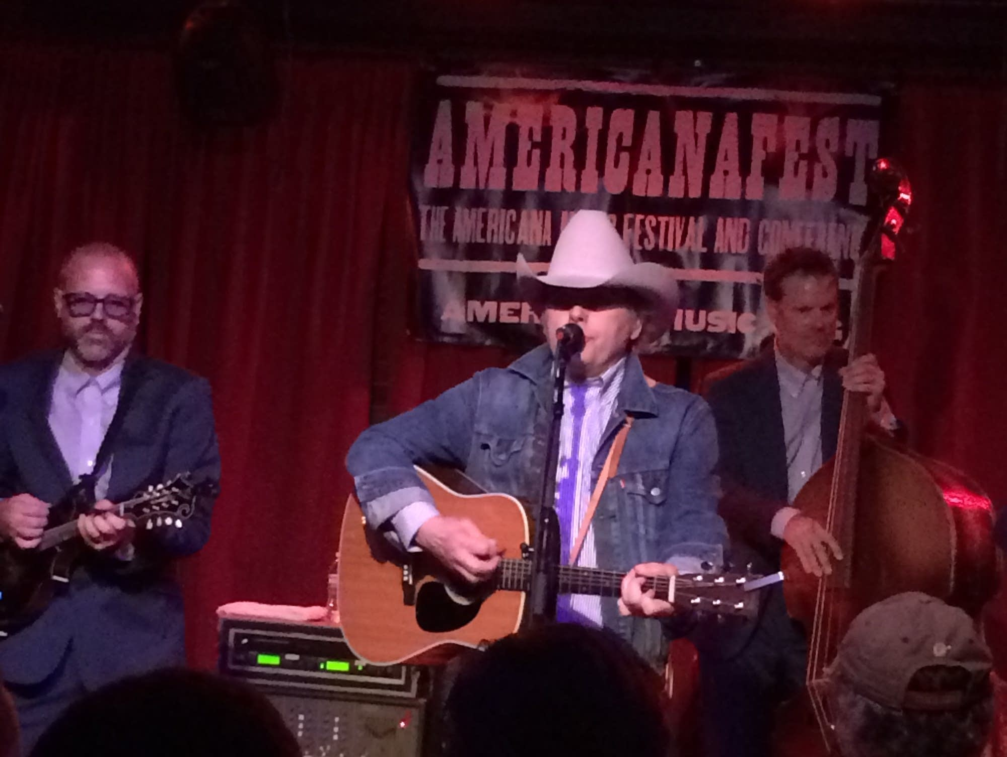 Dwight Yoakam performing at the Mercy Lounge