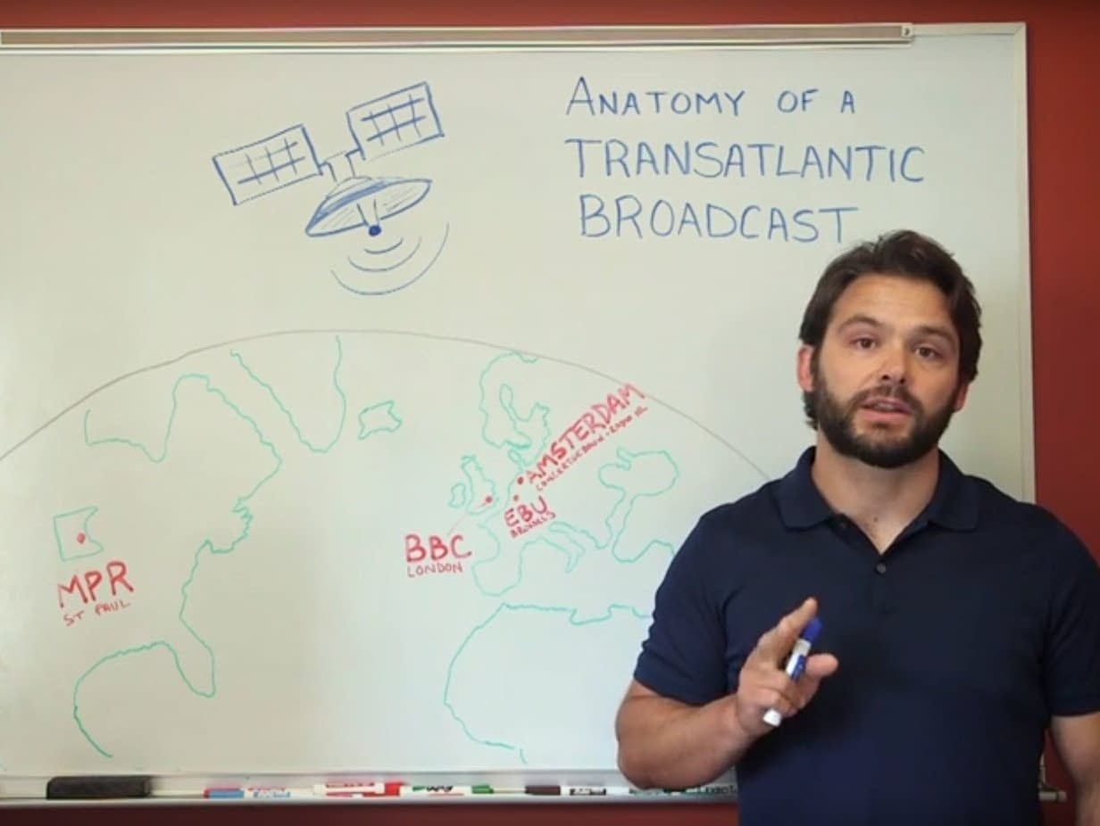 Josh Kubasta explains transatlantic broadcast