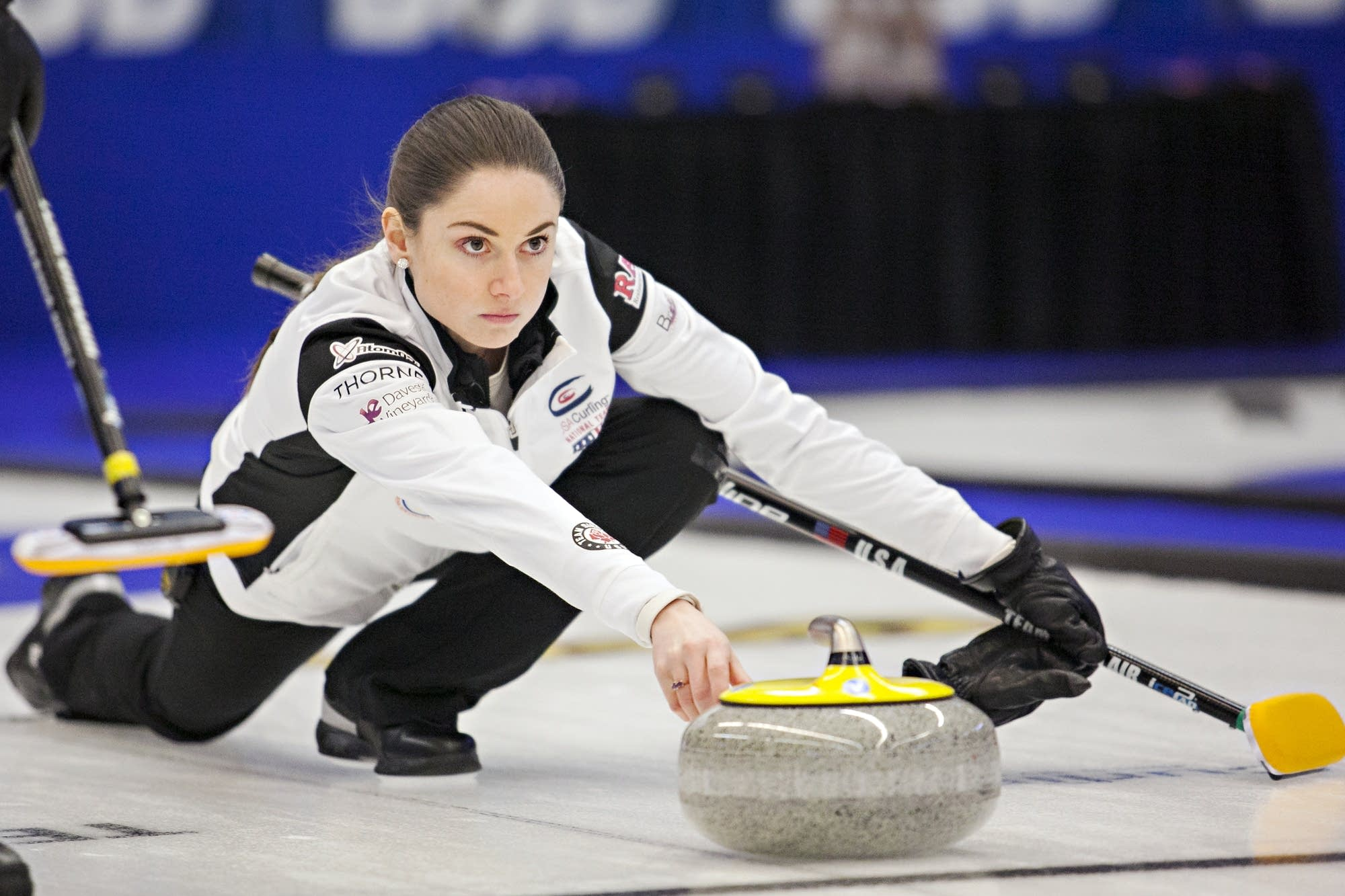 Skip Jamie Sinclair of St. Paul won her second consecutive national title.