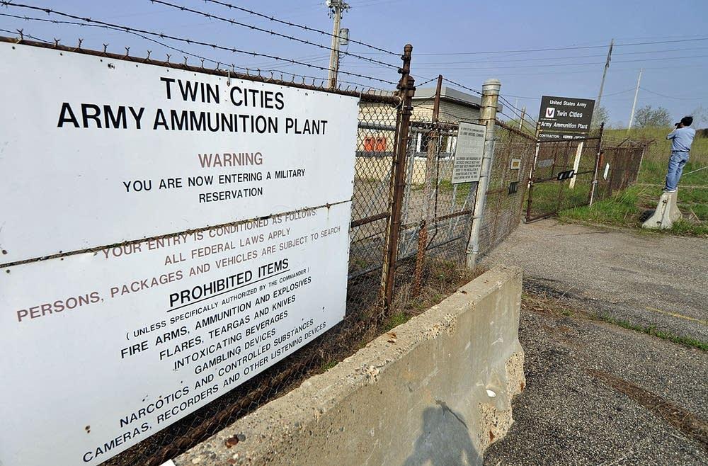 Army ammunitions plant