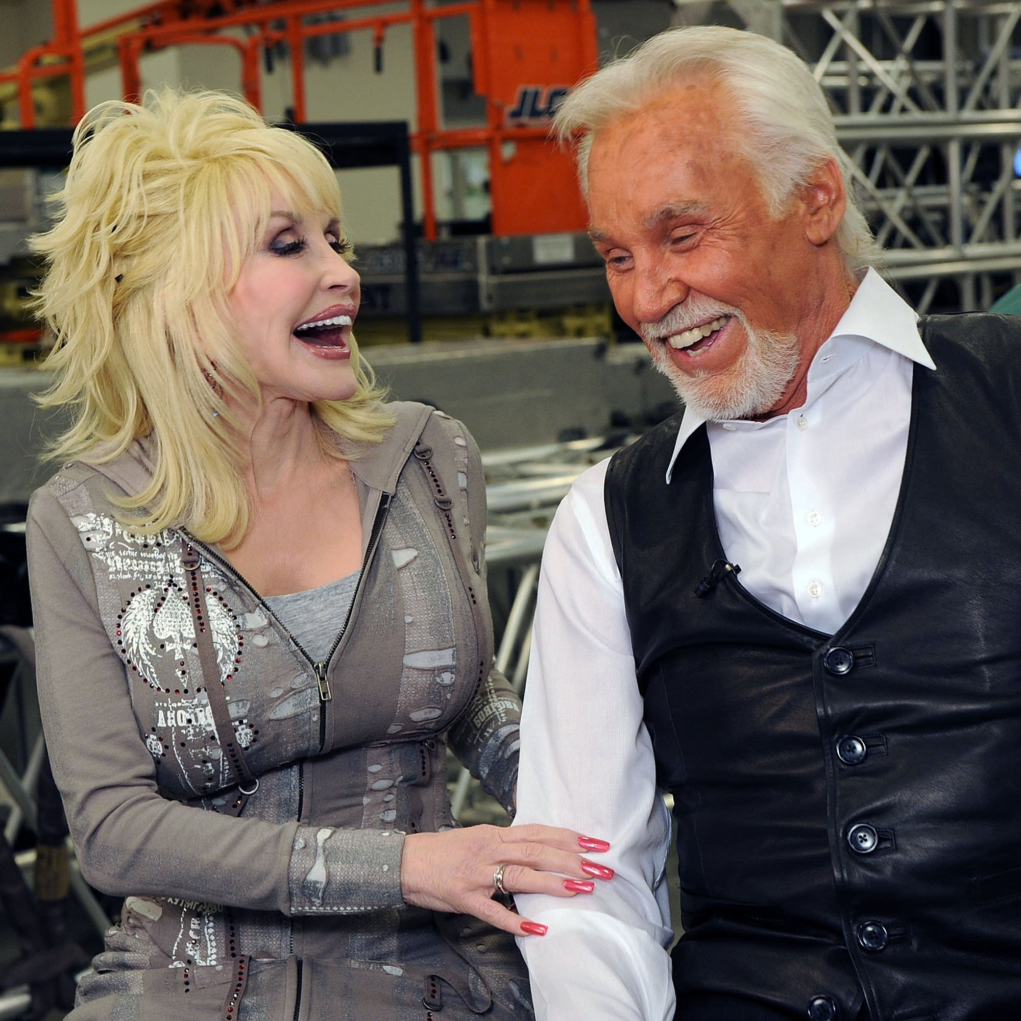 Dolly Parton and Kenny Rogers in 2010.