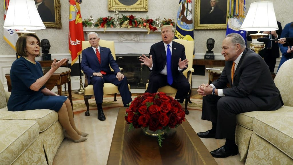 Donald Trump Nancy Pelosi Chuck Schumer