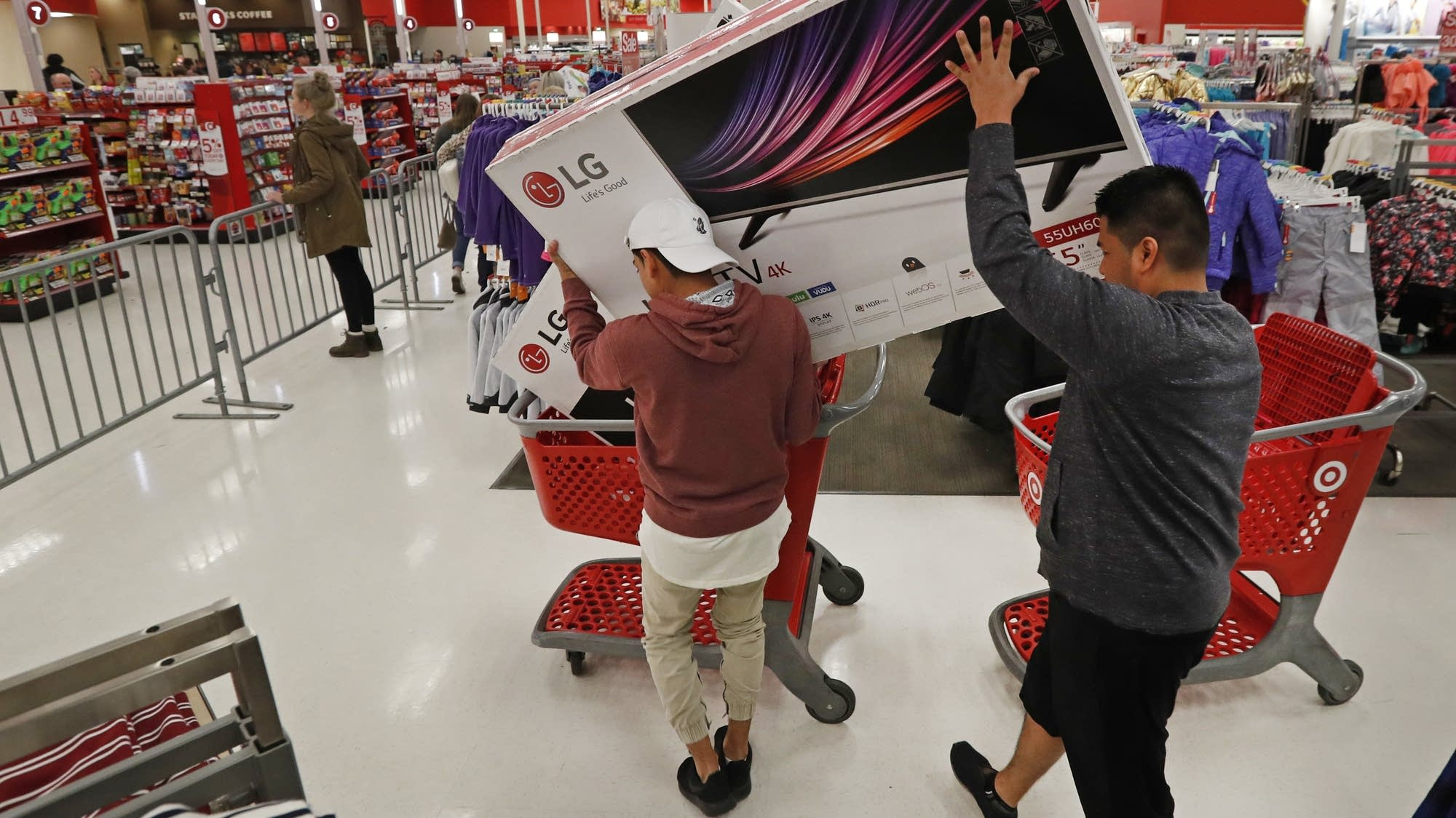 Target To Close On Thanksgiving Ending Black Friday Kickoff Mpr News