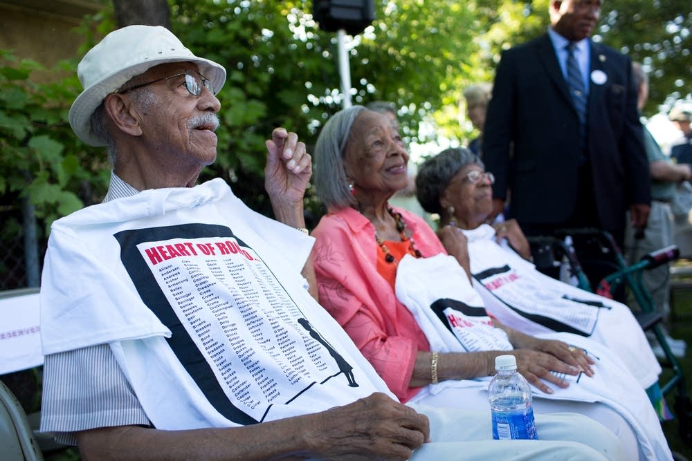 Former Rondo residents are recognized
