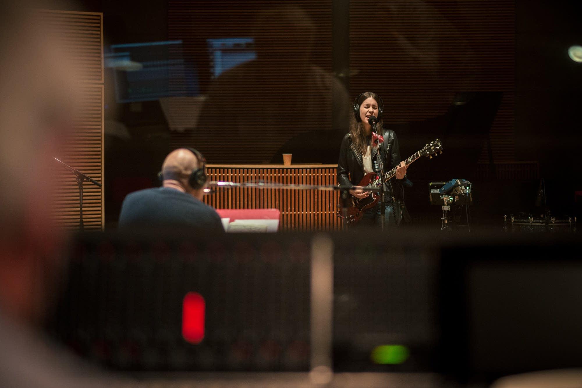 haim in studio 1