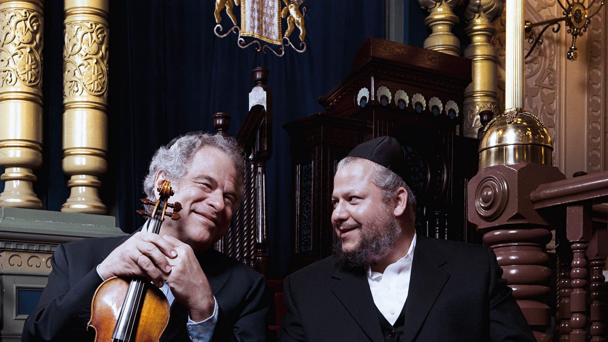 Itzhak Perlman, Cantor Yitzchak Meir Helfgot