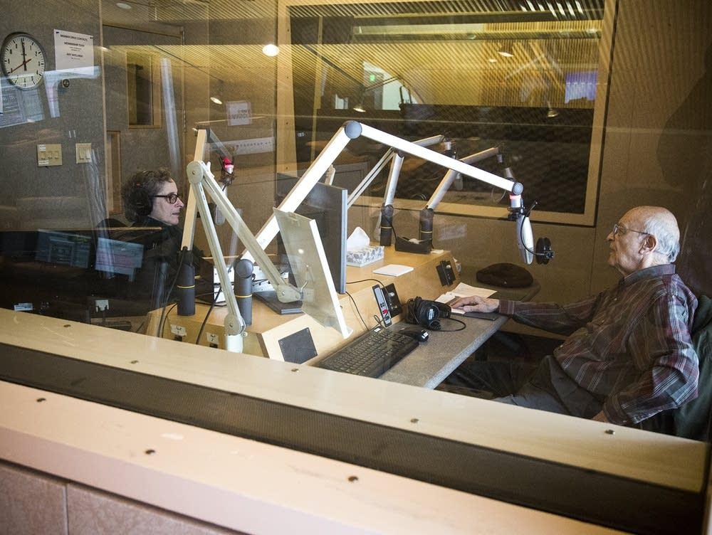 Victor Vital in the studio