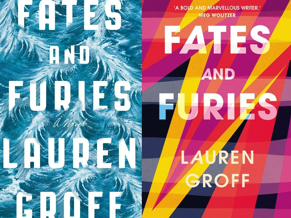 The U.S. and U.K. covers of 'Fates and Furies'