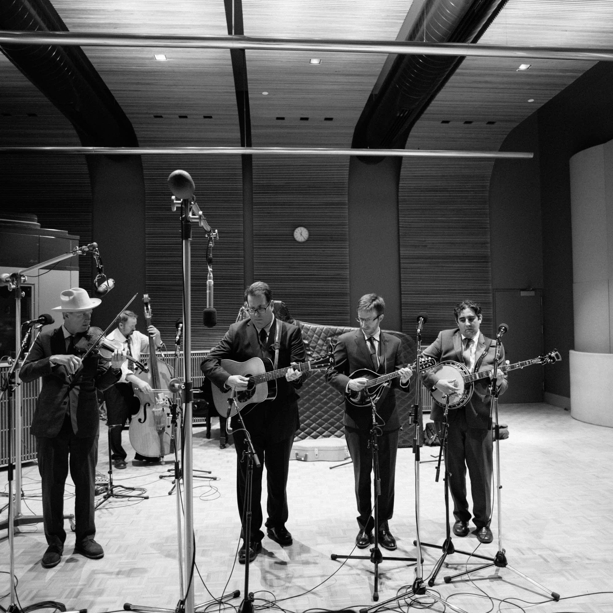 The High 48s perform in the Radio Heartland studio