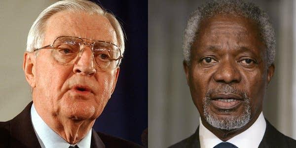 Mondeale and Annan
