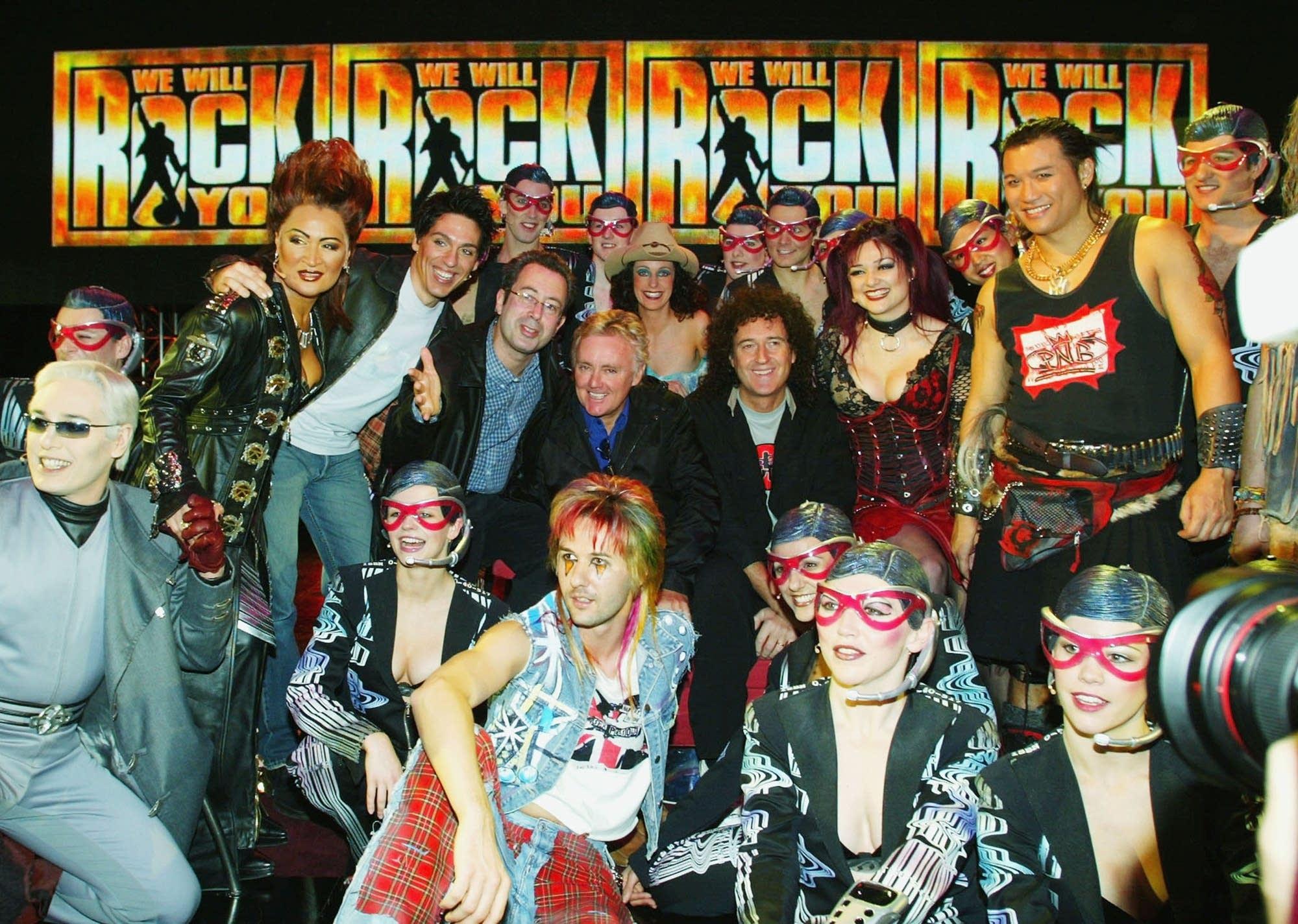 Queen musical 'We Will Rock You'