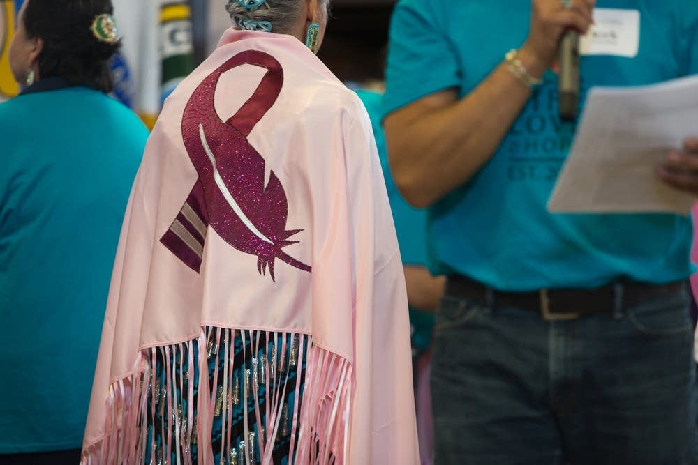 Pink shawls