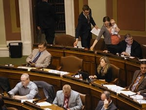 Representatives make the chamber home.