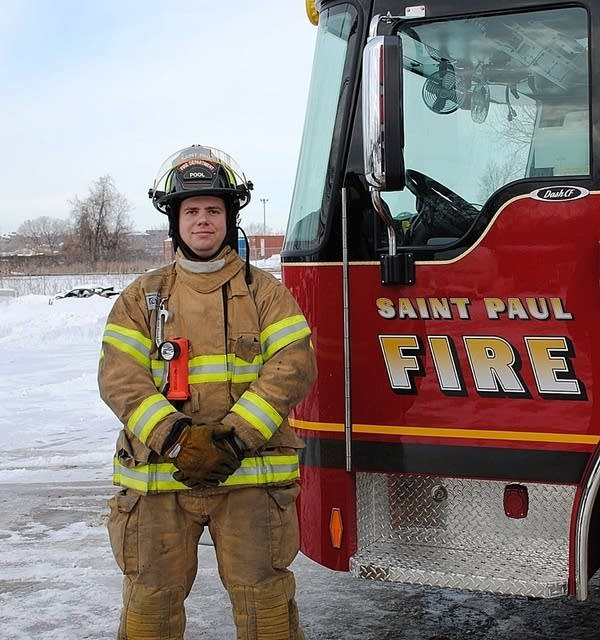 Dad: St  Paul firefighter killed in home served in Iraq