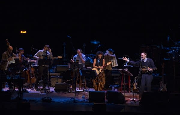 Chris Thile, Gaby Moreno, and The First Call Radio Players
