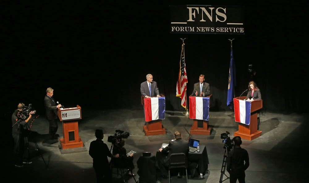 The candidates in Moorhead