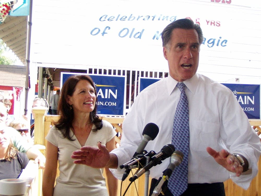 Bachmann and Romney