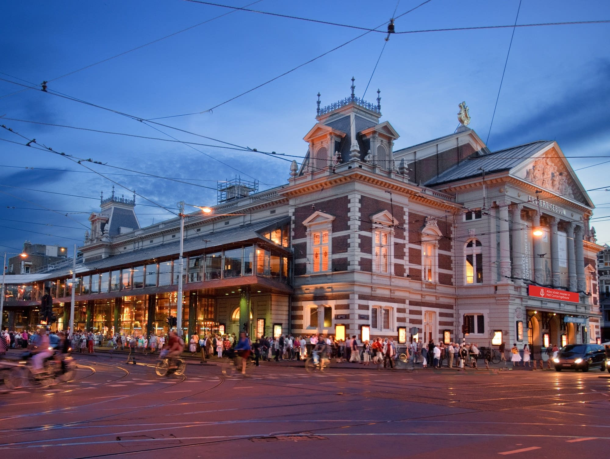 The Concertgebouw in Amsterdam