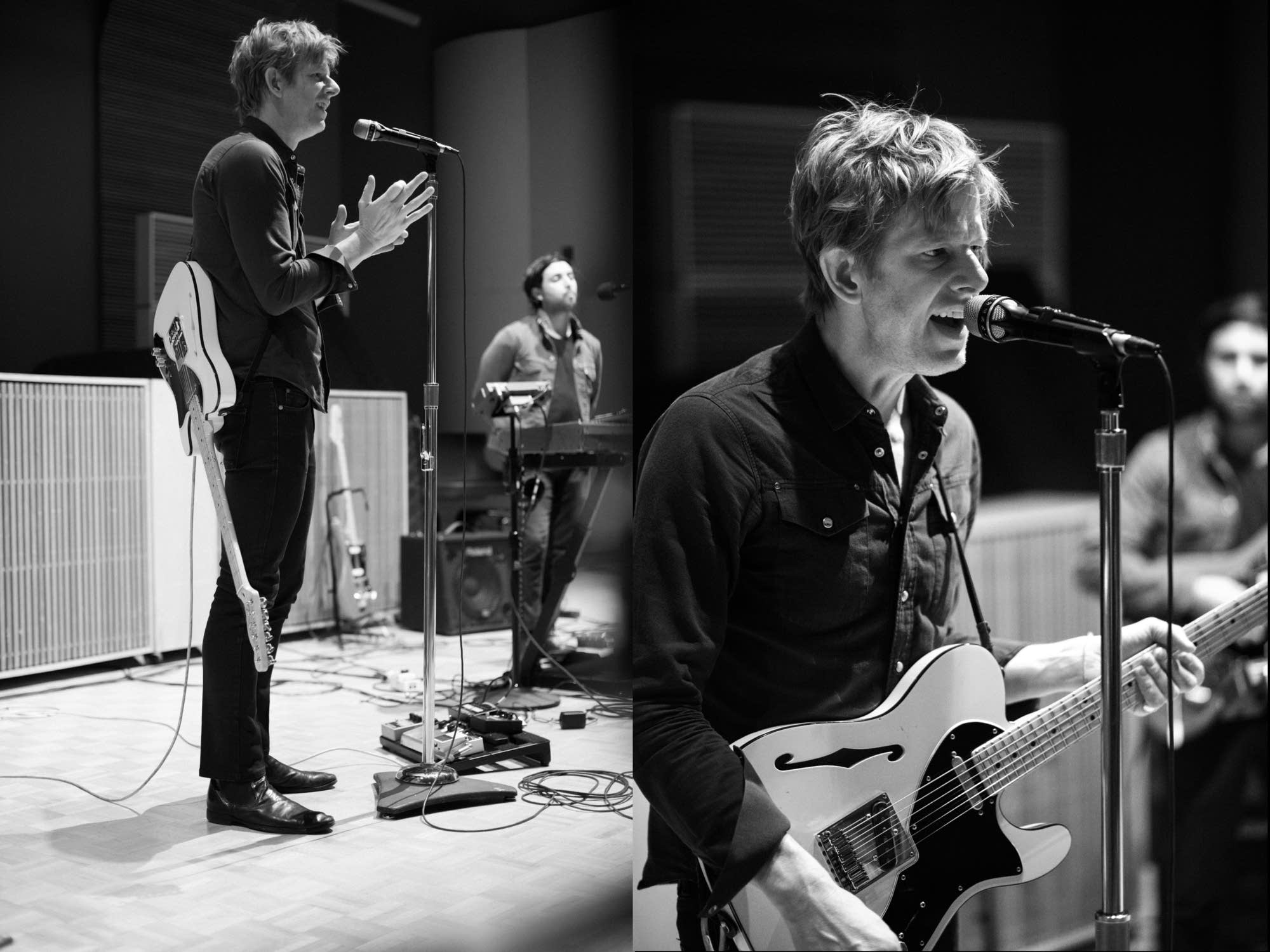 Spoon in The Current studio