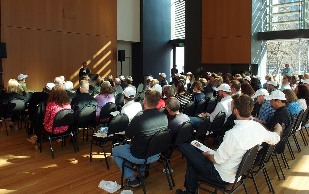 Orientation session at Orchestra Hall
