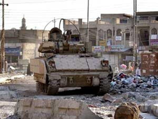 U.S. Army on patrol