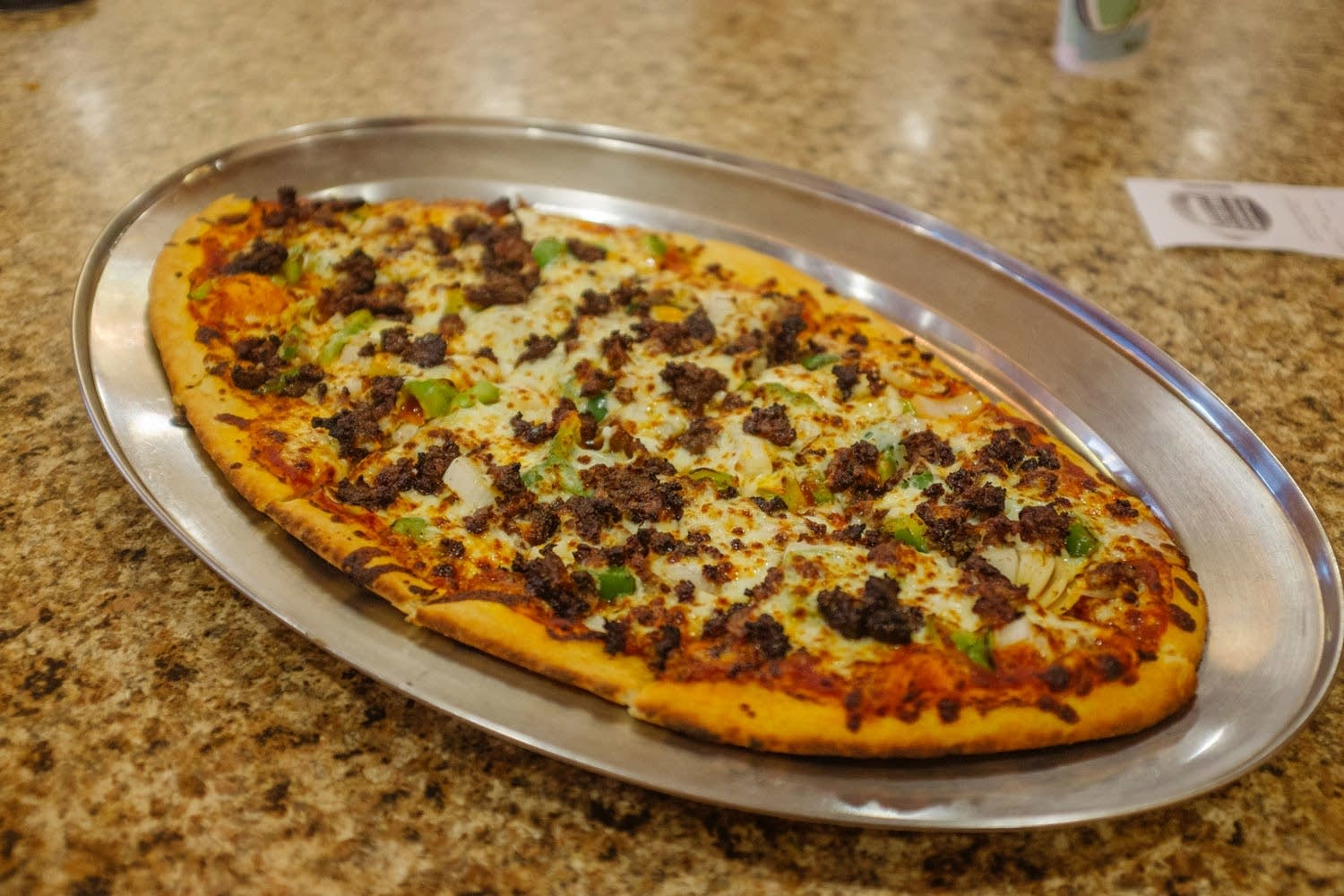 Crescent Moon Bakery Football Pizza