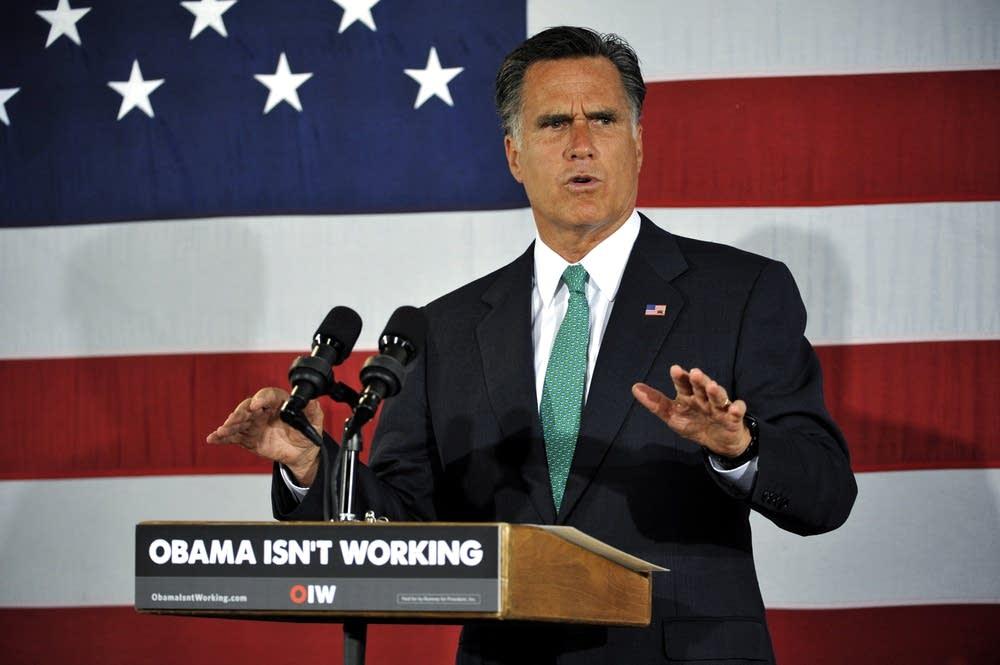 Mitt Romney in Charlotte, N.C.