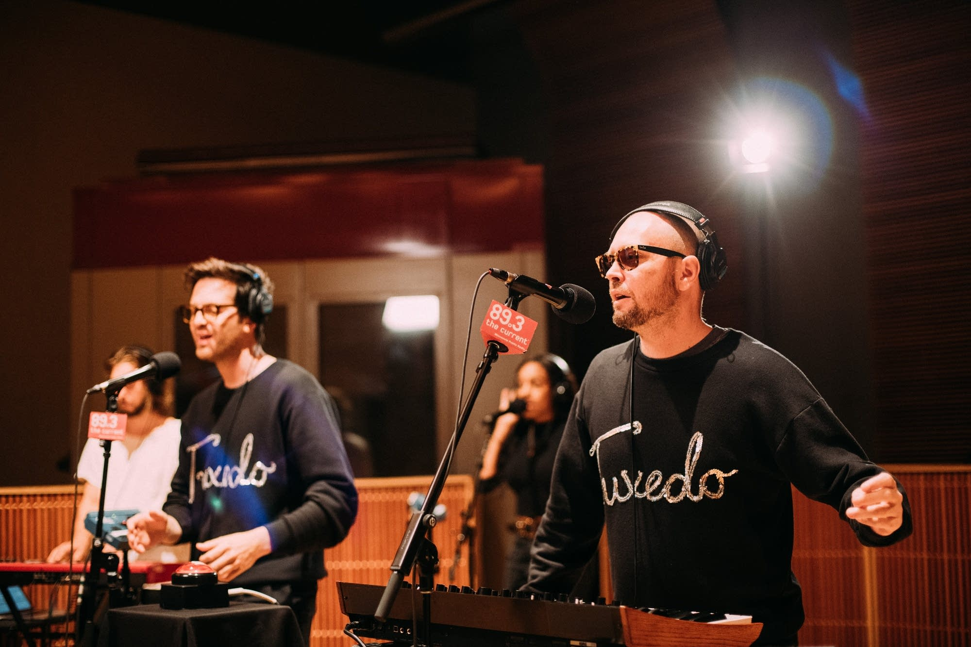 Tuxedo perform in The Current studio