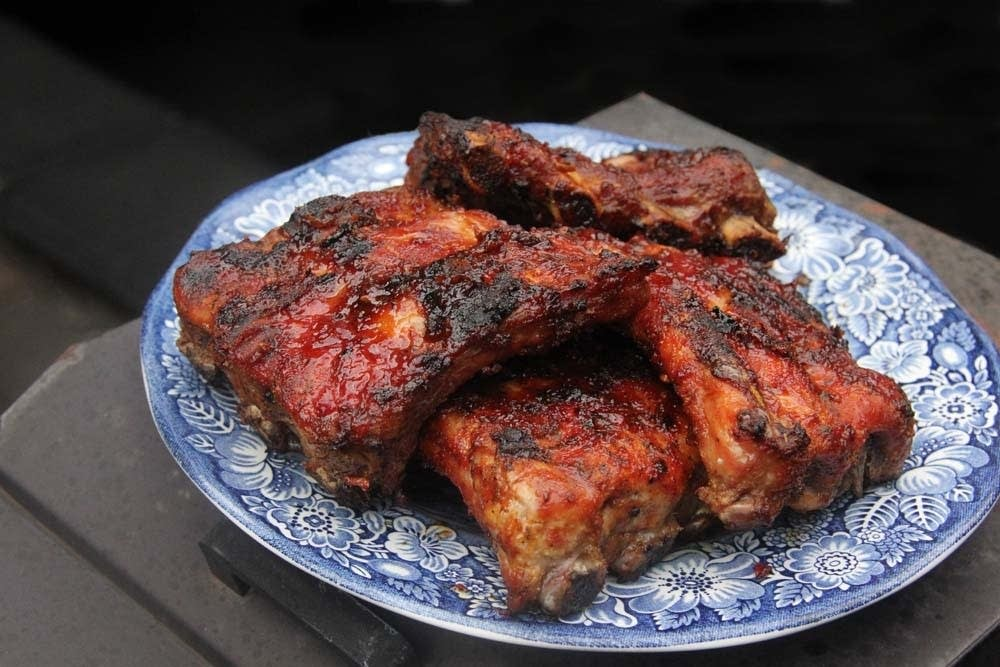 Baby Back Ribs with Maple Glaze