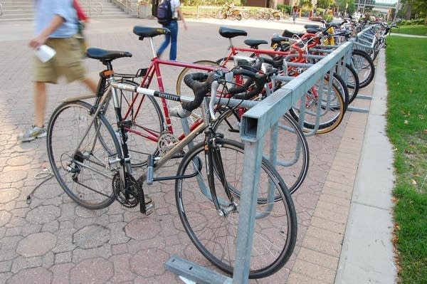 U of M cops target bike thieves with 'bait bikes' | MPR News