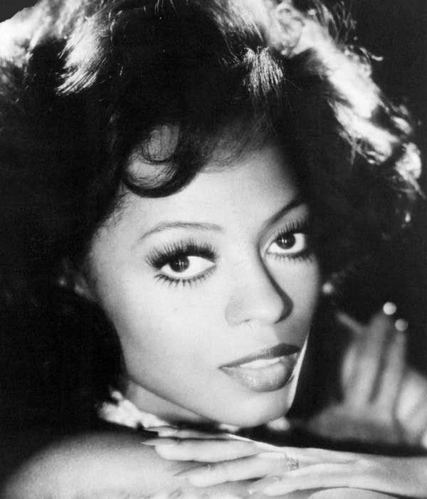 Diana Ross in a 1976 publicity photo