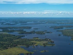 Rainy Lake, on Minnesota's northwestern border