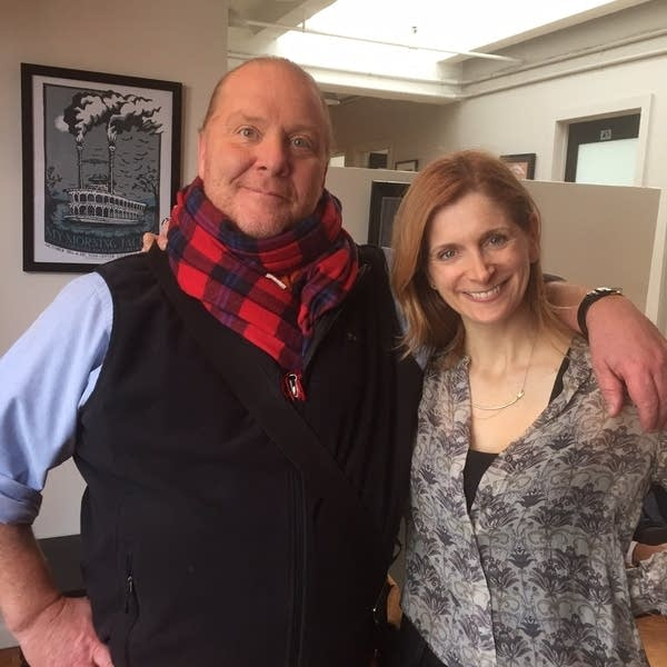 Mario Batali and Melissa Clark by Sally Swift