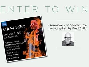 Win a copy of Stravinsky's 'The Soldier's Tale'