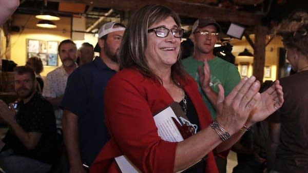 Vermont Democratic gubernatorial nominee Christine Hallquist.
