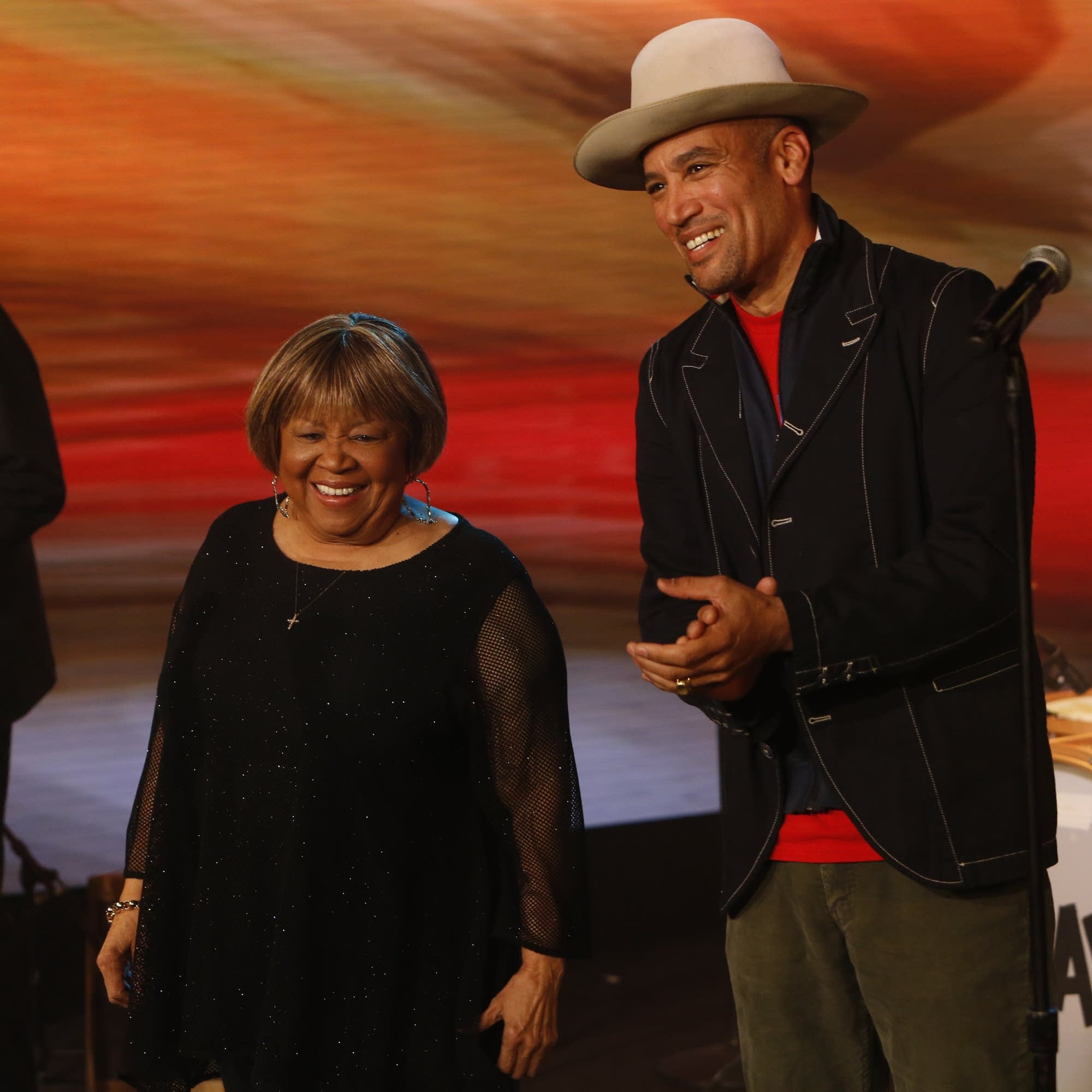 Mavis Staples performs with Ben Harper on 'Jimmy Kimmel Live!'