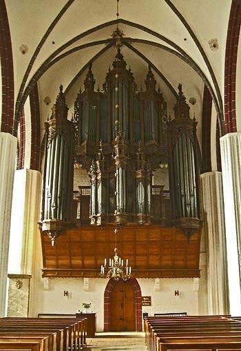 1624 Scherer organ at Stephanskirche, Tangermünde, Germany